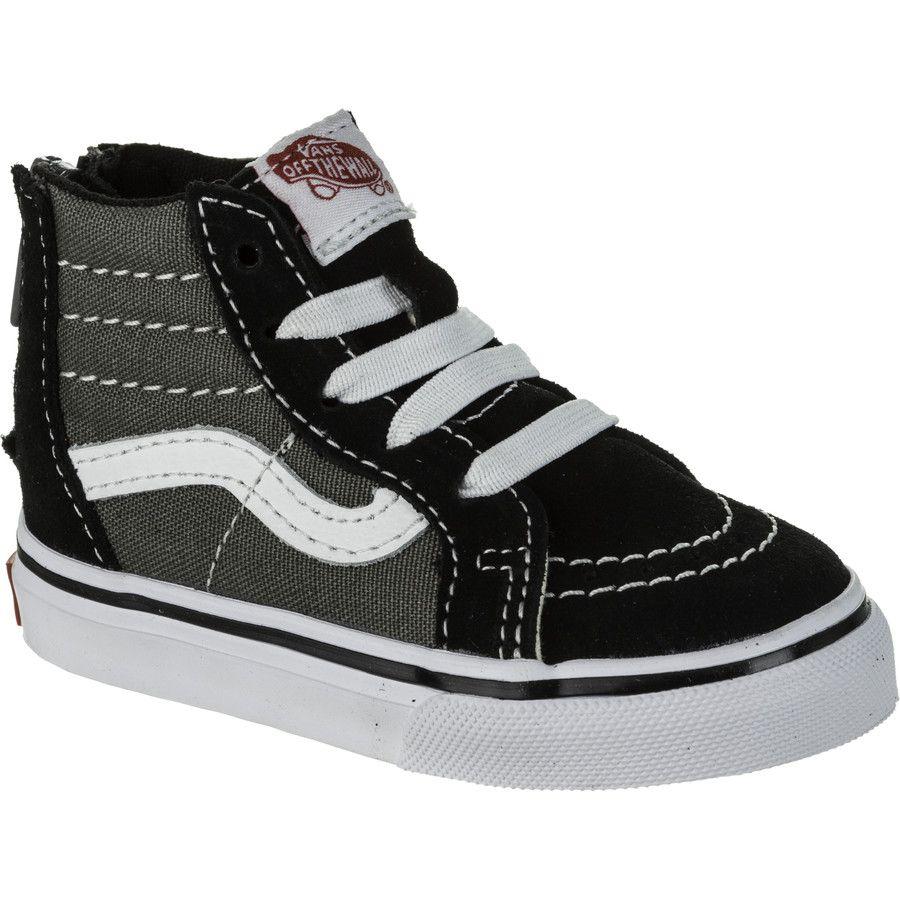 SK8-Hi Zip Skate Shoe - Toddlers'