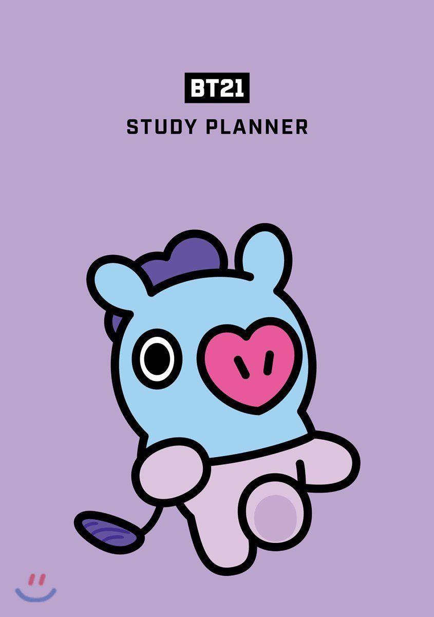 BTS BT21 Study Planner Goods RJ SHOOKY KOYA CHIMMY MANG COOKY TATA VAN +Tracking   eBay   Gambar lucu. Kartun. Wallpaper lucu