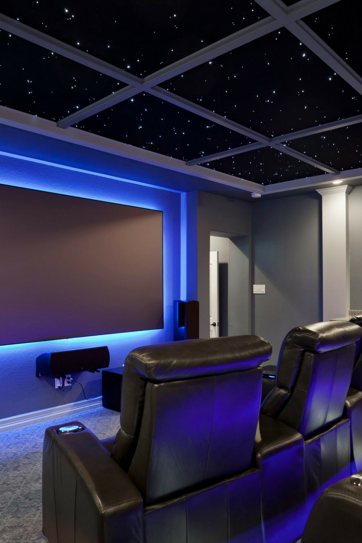 How To Make The Most Of Your Home Media Room Media Room Ideas