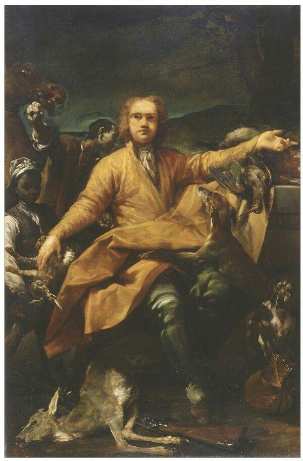 Ritratto di cacciatore. 1720. Pinacoteca Nazionale di Bologna