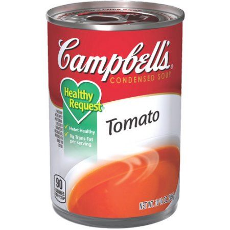 Photo of Campbell'S Condensed Healthy Request Tomato Soup, 10.75 Oz Can – Walmart.com