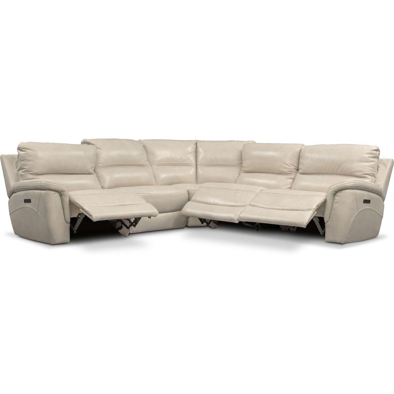 avanti 5 piece triple power reclining
