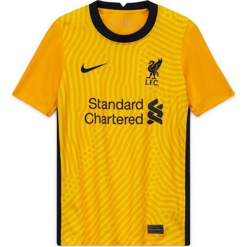 20/21 Liverpool goalkeeper home jersey   Liverpool goalkeeper ...