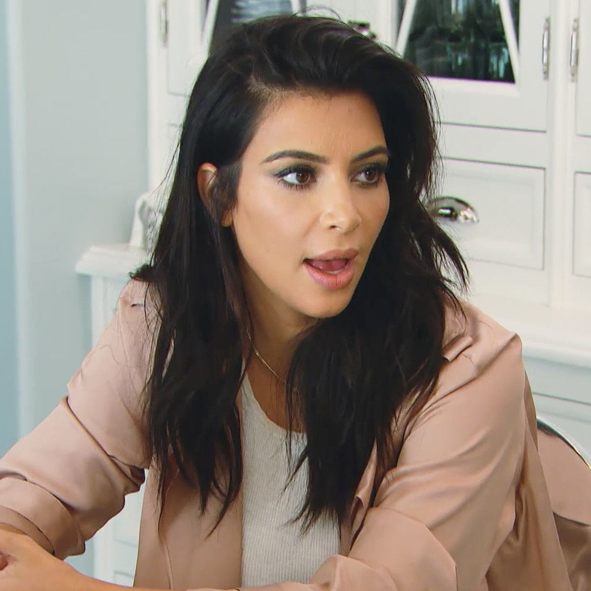 Kim Kardashian To Skeptics I Don T Back Out Kim Kardashian Short Hair Kardashian Hair Kim Hair