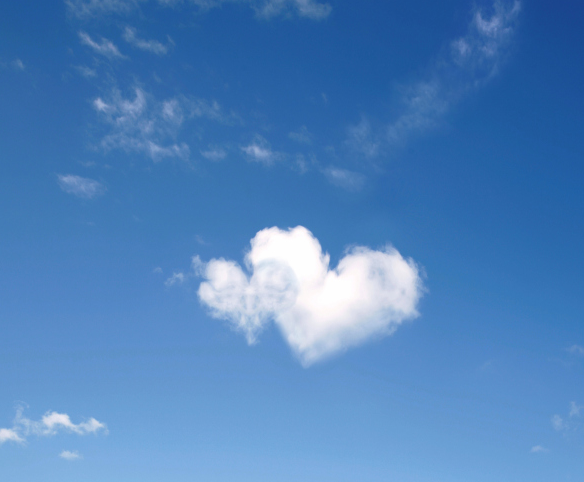 Love Is In The Air Heart In Nature Heart Pictures Clouds