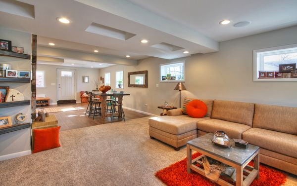 before after converting a garage into a family room remodeling tips pinterest room. Black Bedroom Furniture Sets. Home Design Ideas