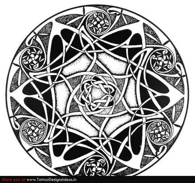 Gallery For Celtic Flower Tattoo Designs Celtic Knot Tattoo Flower Tattoo Designs Celtic Tattoos