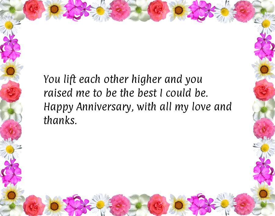 Anniversary Wishes To Parents Happy Anniversary Quotes Wedding