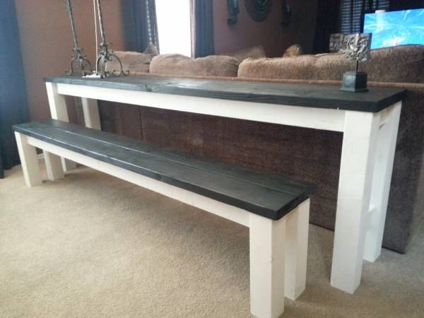 sofa table the doubles as table seating for 5 7 perfect for kids to eat their breakfast or. Black Bedroom Furniture Sets. Home Design Ideas