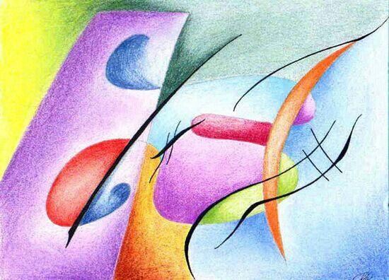 Kandinsky   Arte para niños   Pinterest   Cuadros pintados, Arte ...