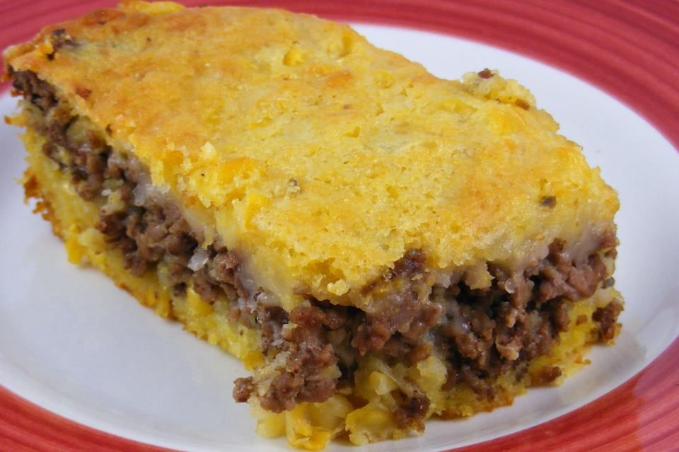 Mexican Corn Bread With Ground Beef Recipe Mexican Cornbread Recipes Food