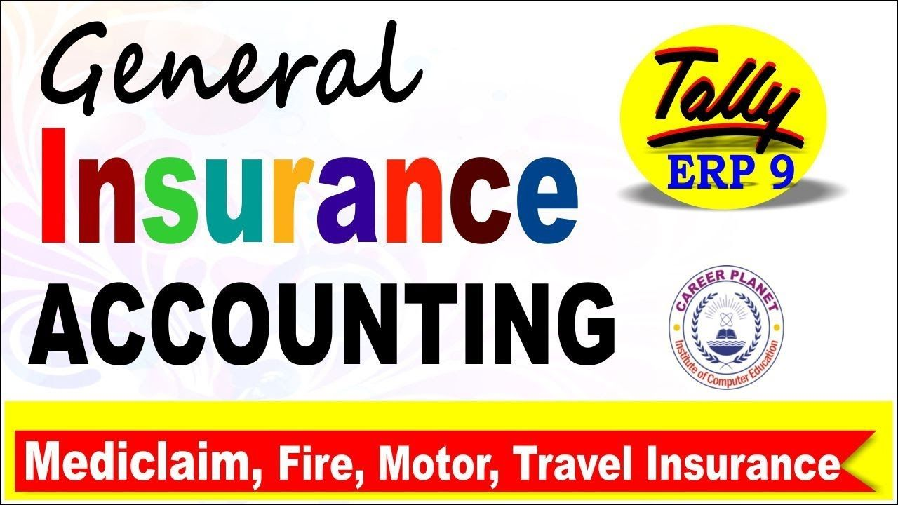 General Insurance Accounting Entry In Tally Erp 9 Learn Tally Erp 9 In Accounting Learning Computer Education