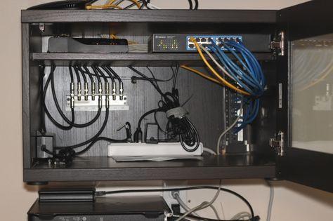 home network wiring cabinet ikea hackers ikea hackers ikea rh pinterest com