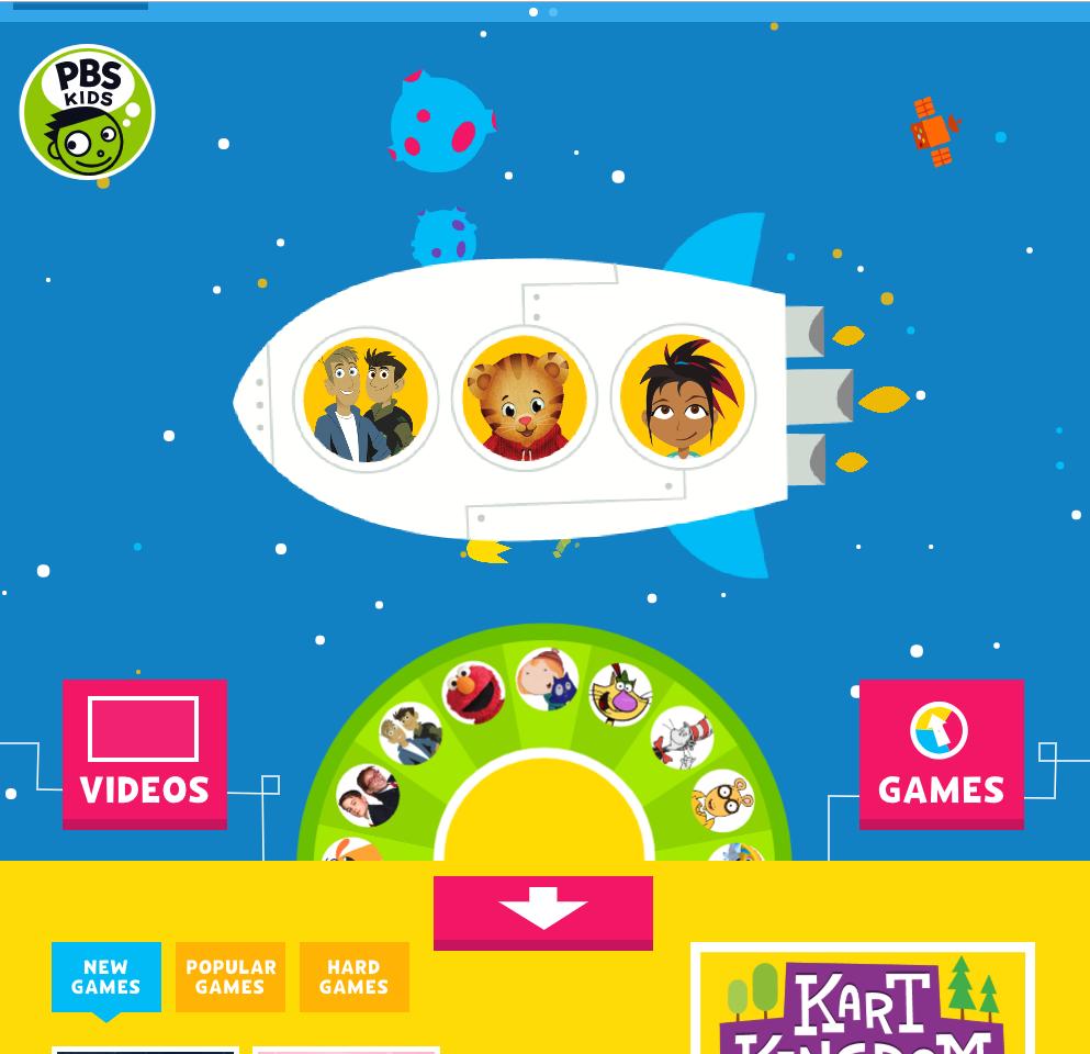 Pin by Zahrah Qadir on EL5 Pbs kids videos, Video games