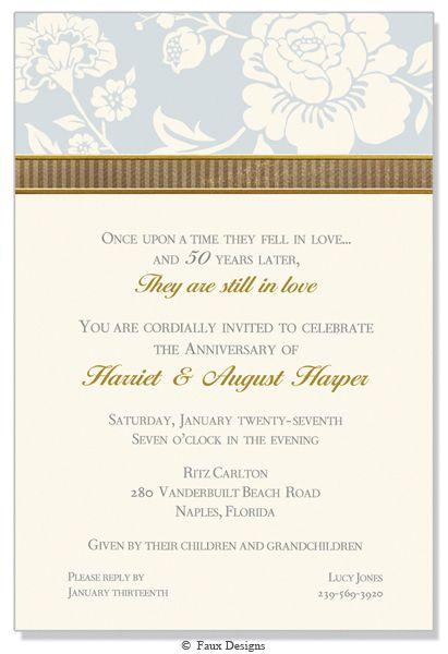 Silver Waldorf Invitation Invitations 30th Anniversary Parties Invitation Design