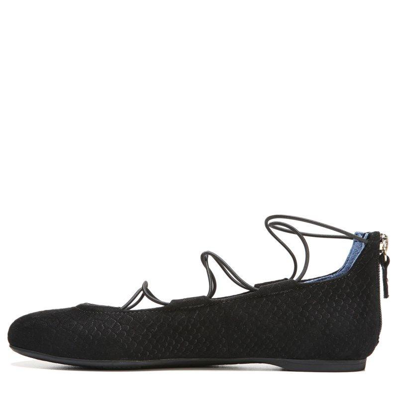 Dr. Scholl s Women s Glory Memory Foam Flat Shoes (Black Micro Snake) 48e46fbb4c7