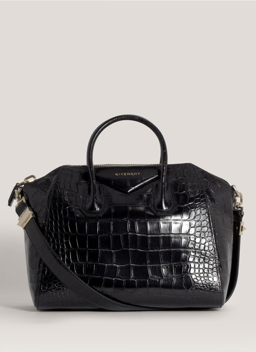959166a19fa GIVENCHY | Antigona croc-embossed satchel | Lane Crawford - Shop ...