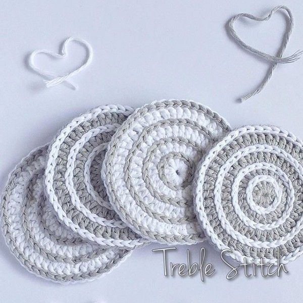 Crochet Potholders, Coasters, Trivets and More Kitchen Crochet   Tejido