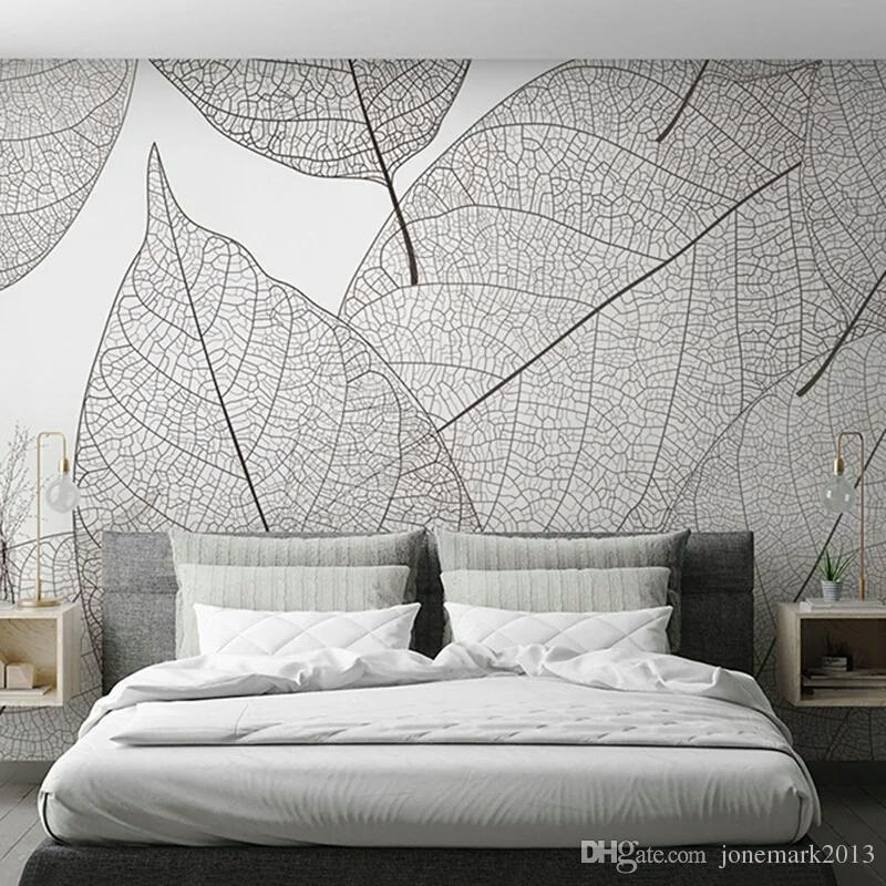 Custom Mural Wallpaper Modern Minimalist Leaf Veins Texture Wallpaper Living Room Bedroom Background Mural Wallpaper Home Decor Cartoon Wallpaper Cartoon Wallpapers From Jonemark2013, $26.14| DHgate.Com