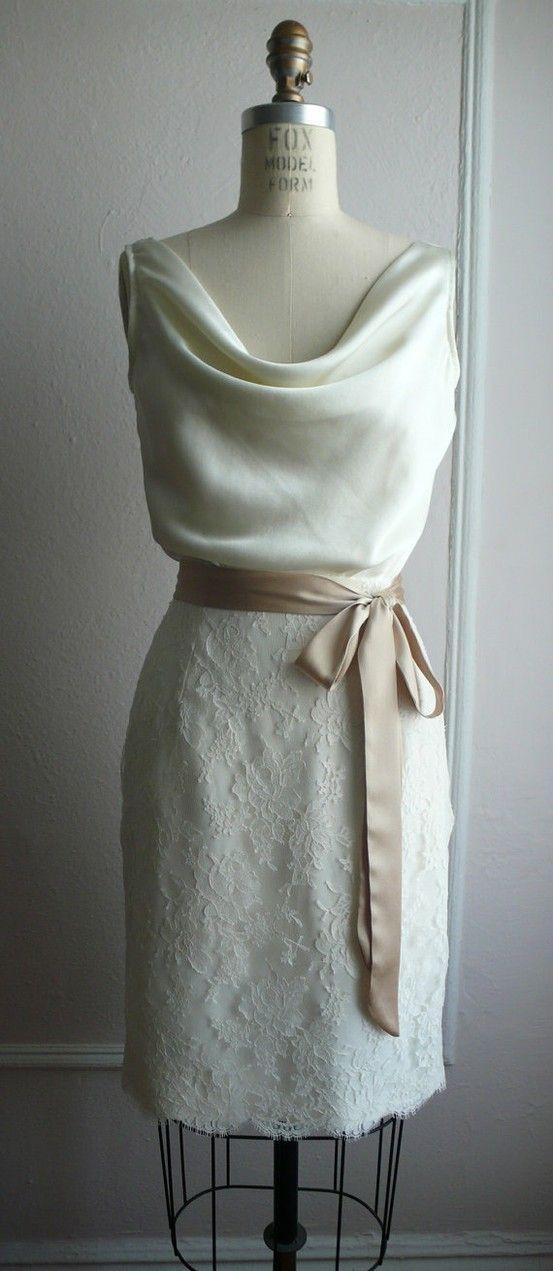 love the fabric and neckline drape
