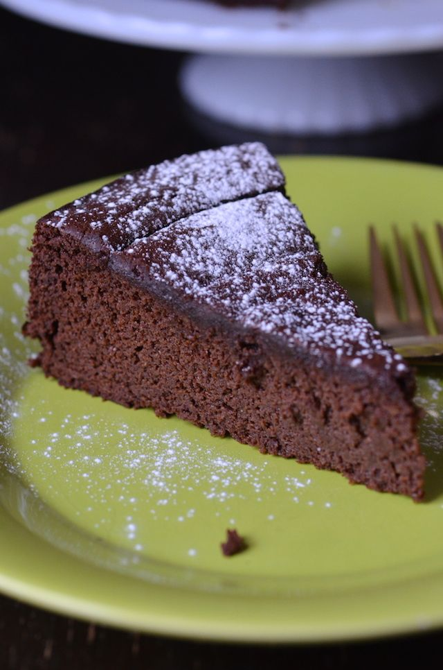 Nigella S Flourless Chocolate Orange Cake Chocolate