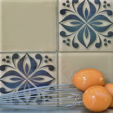 Tile Tattoos. Great Way To Change A Plain Tile Area In Your Kitchen Or  Bathroom