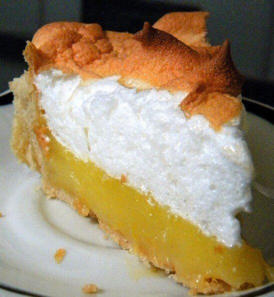 Old Fashioned Lemon Meringue Pie #lemonmeringuepie