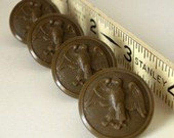 Vintage Military Buttons - Vintage Army Buttons - Vintage