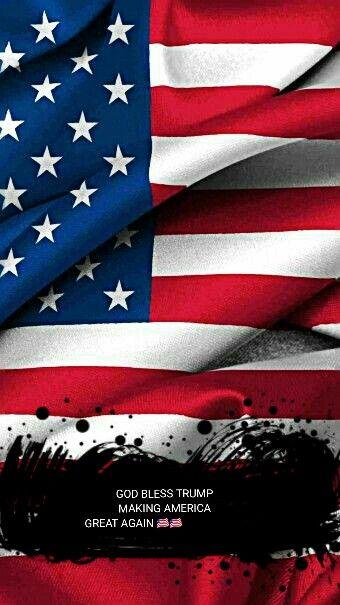 Congratulations Trump Iphone 6 Wallpaper American Flag