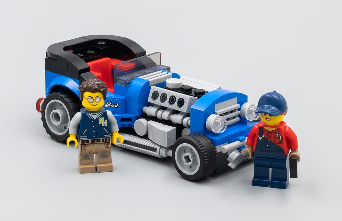 lego 40409 hot rod gwp hoth bricks