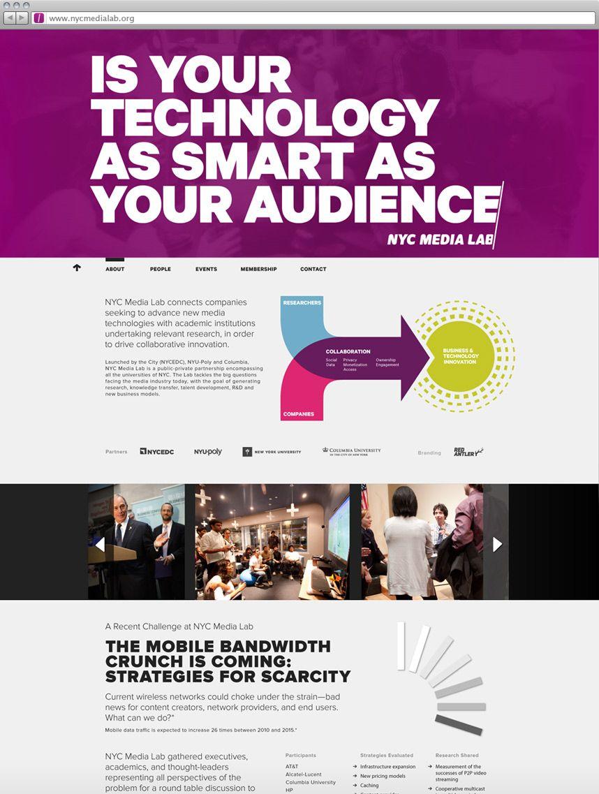 Red Antler Nyc Media Lab Website Inspiration Web Design Online Design