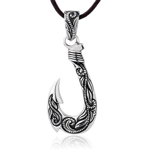 inch product silver chesapeake sterling fish pendant jewelers hook
