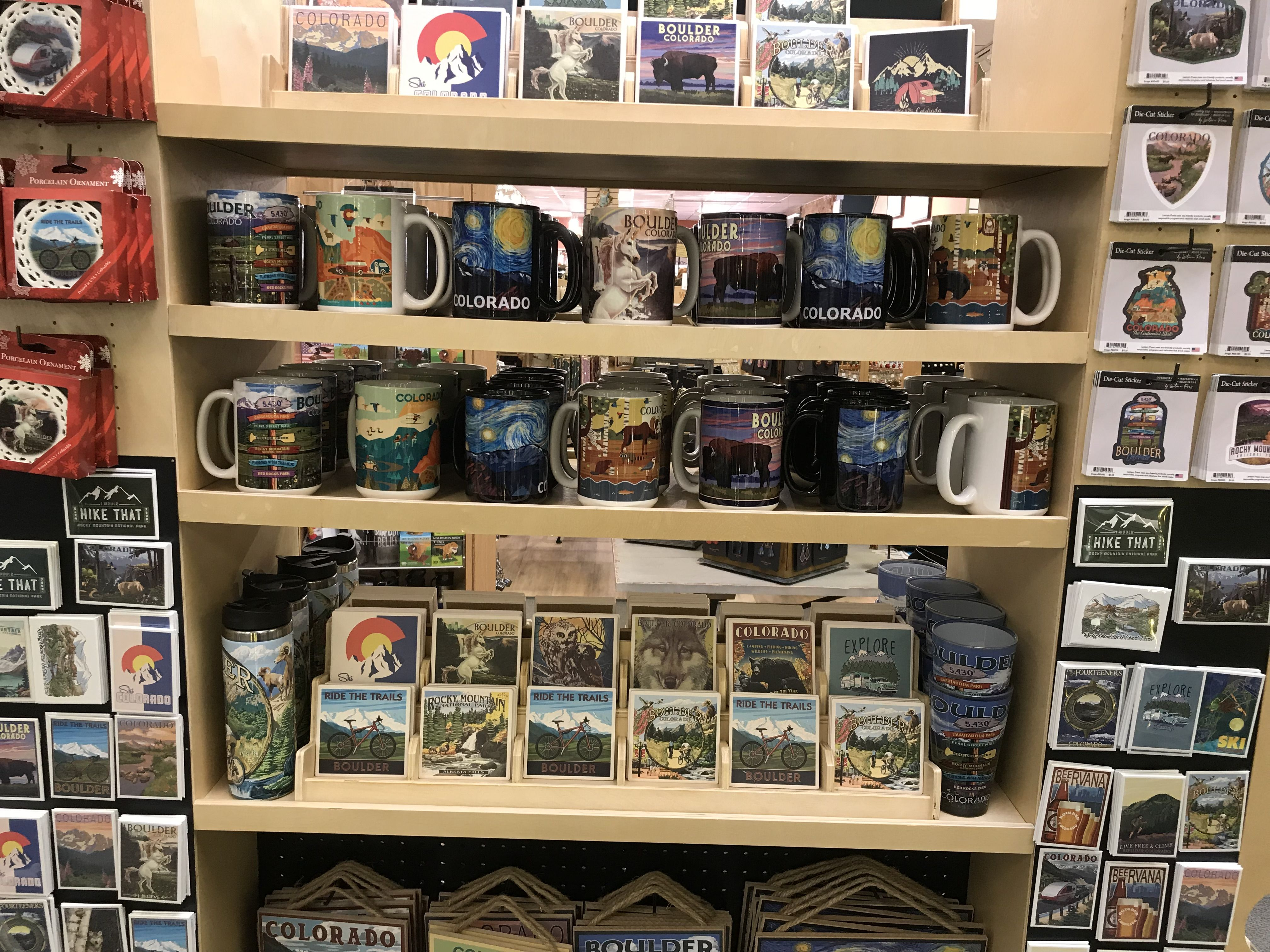 Find every type of souvenir at art mart gifts in boulder
