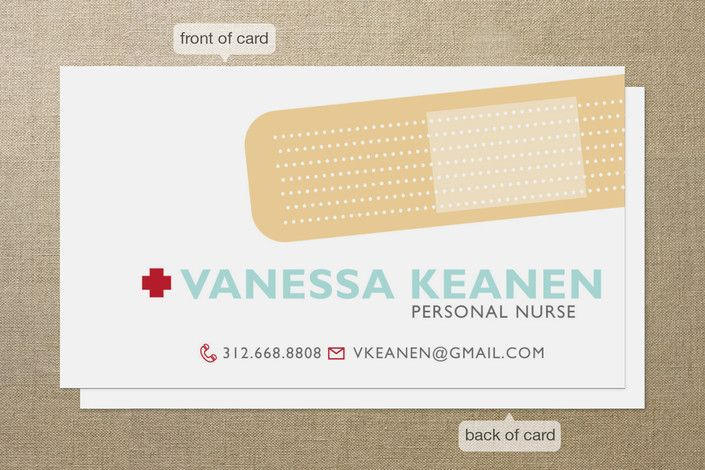 Band aid business cards by sheila sunaryo at minted so cute band aid business cards by sheila sunaryo at minted so cute reheart Gallery