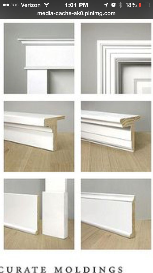 Craftsman Vs Colonial Molding And Trim Moldings And Trim Interior Door Trim Home Design Decor