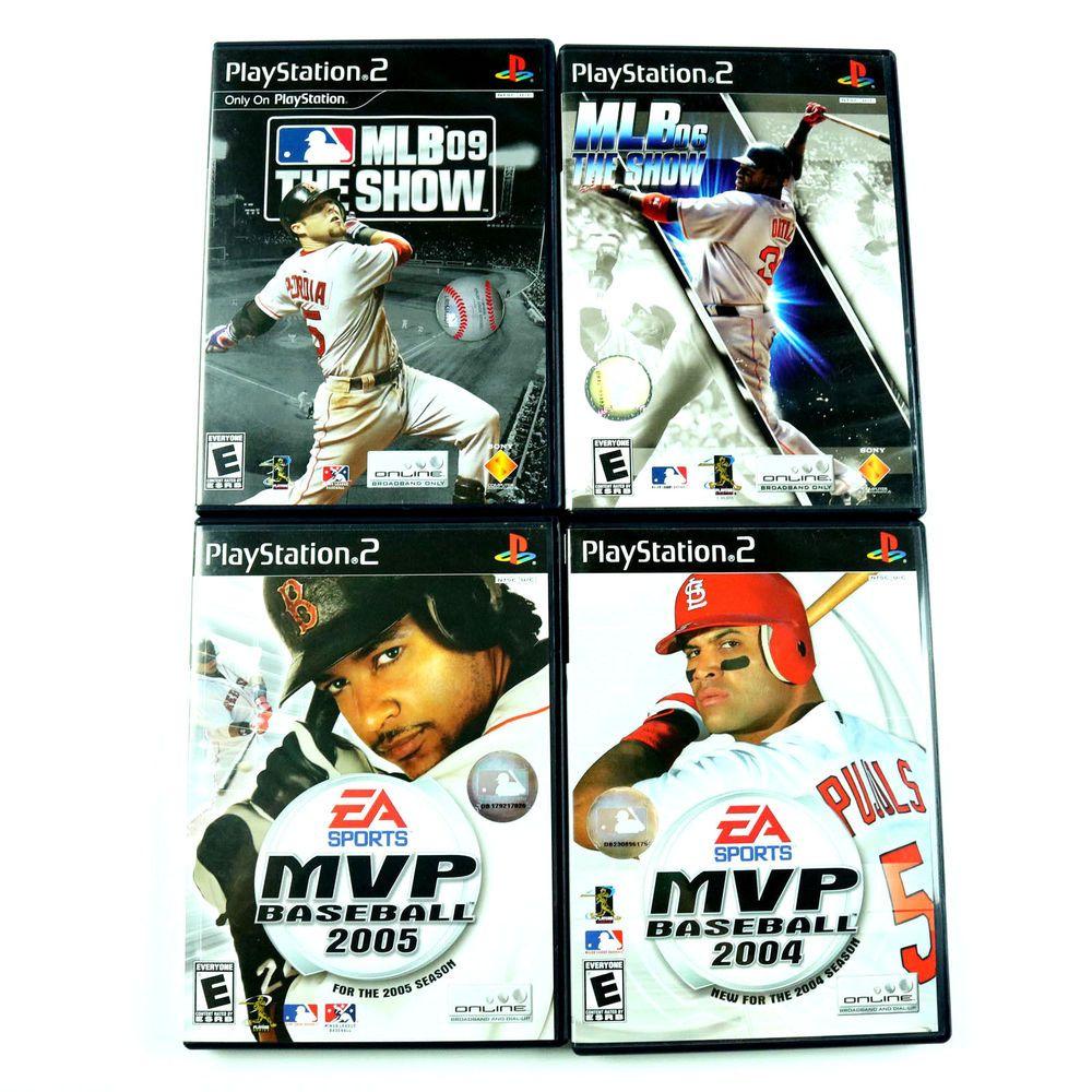 MVP Baseball 2005 2004 MLB 06 09 The Show Playstation