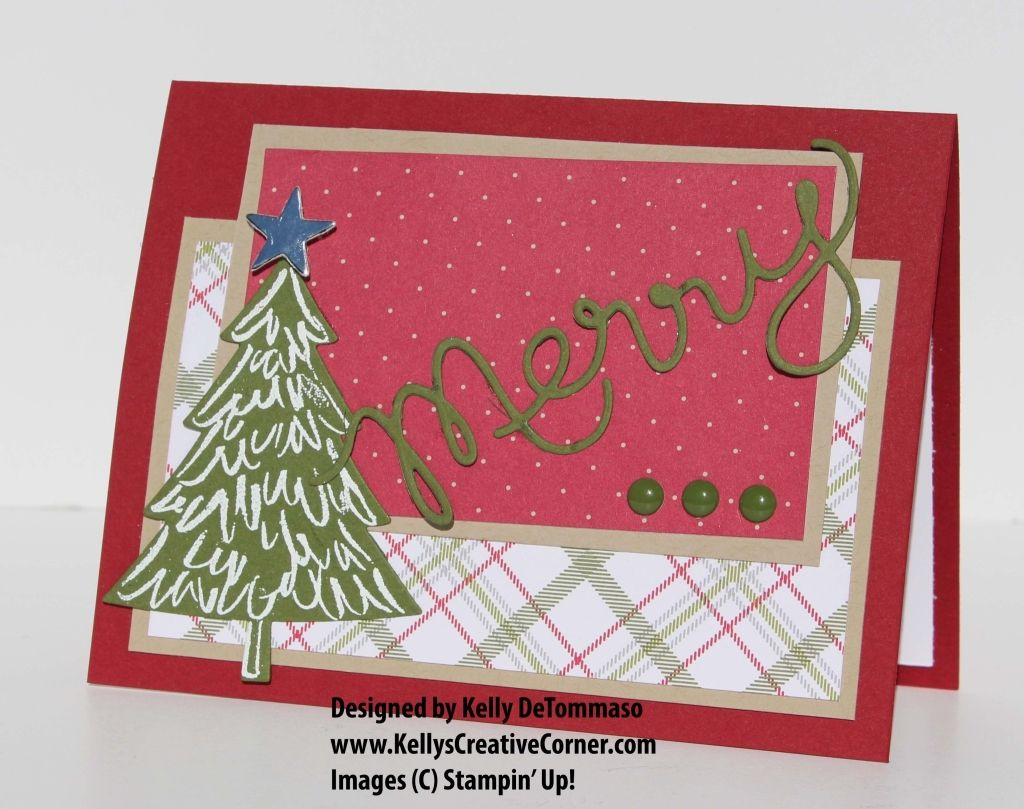 Pals Paper Crafting Card Ideas Perfect Pines Mary Fish Stampin Pretty StampinUp