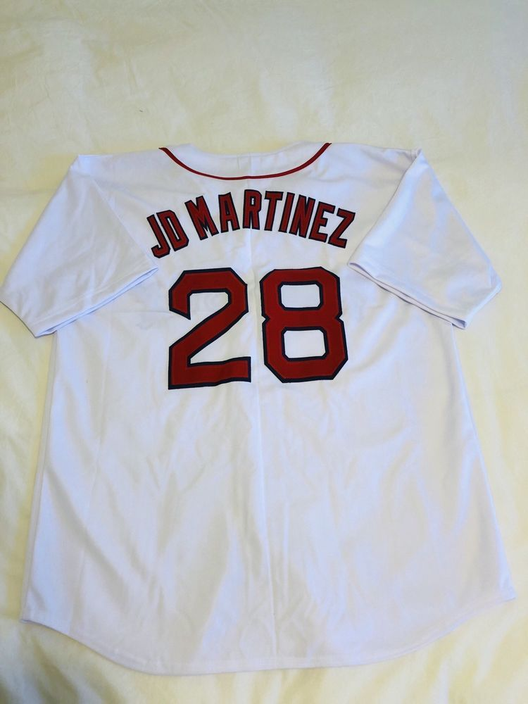 ef3bbe9ff JD Martinez Custom White Baseball Jersey Mens Size XL Stitched   29.99 End  Date  Tuesday Dec-18-2018 14 33 06 PST Buy It Now for only …