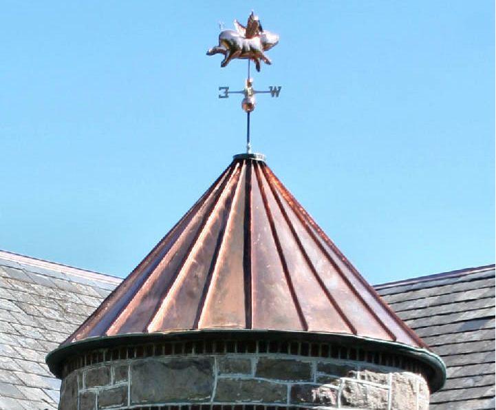Copper Standing Seam Turret Bethlehem Pa Copper