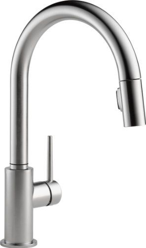 delta 9159 ar dst arctic stainless kitchen faucet review buying rh pinterest com moen pull down kitchen faucet reviews delta pull down kitchen faucet reviews
