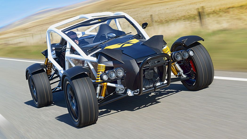 2021 Ariel Nomad R supercharged to 335 horsepower in 2020