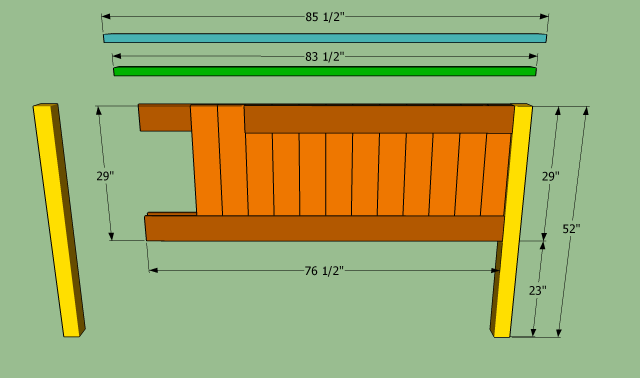 How To Build A King Size Bed Frame King Size Bed Frame King