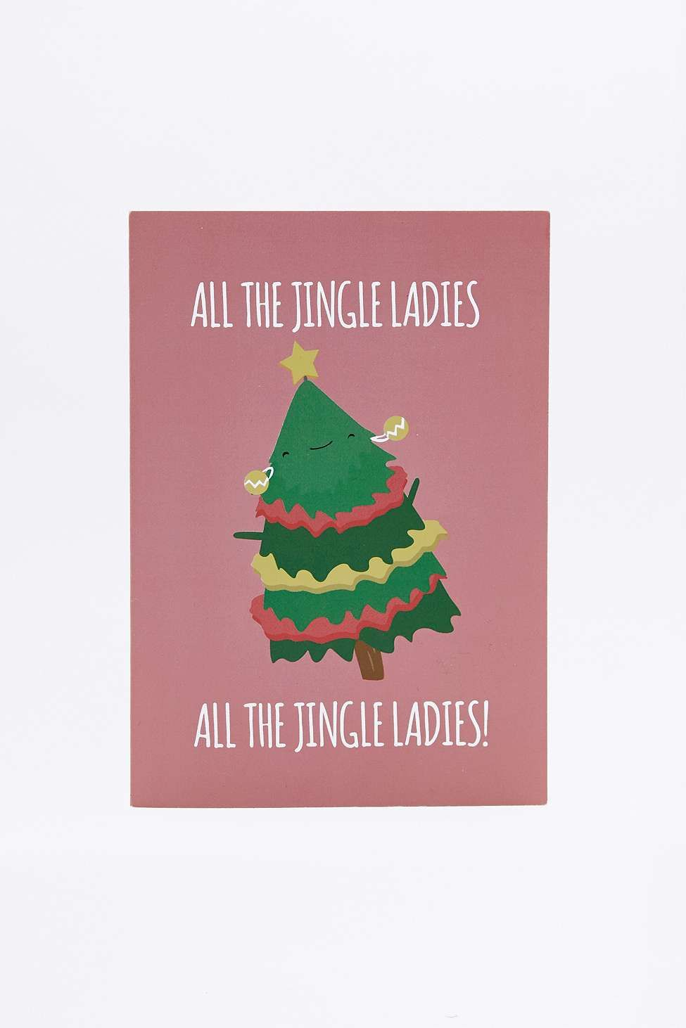 Carte All The Jingle Ladies - Urban Outfitters