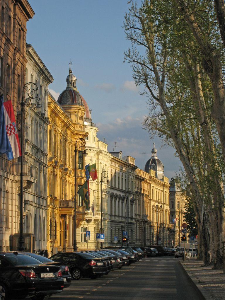 Typical Zagreb Street Scene Img 0141 Zagreb Street Scenes Wonders Of The World