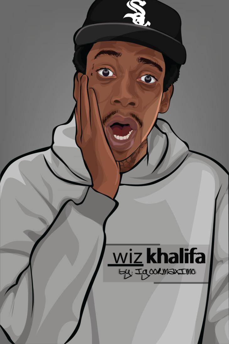 Wiz Khalifa The Wiz Wiz Khalifa Cartoon Wallpaper