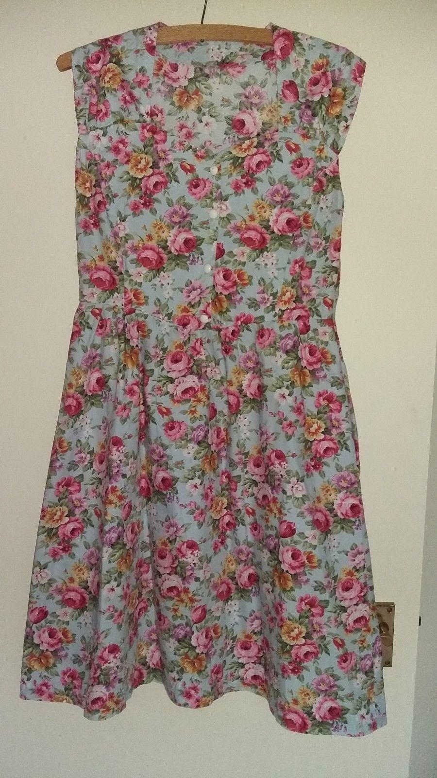 19 62 Vintage Inspired Handmade Ladies Summer Dress Size 12 Vintage Inspired Handmade Ladies Summ Summer Dresses For Women Summer Dresses Dresses [ 1600 x 900 Pixel ]