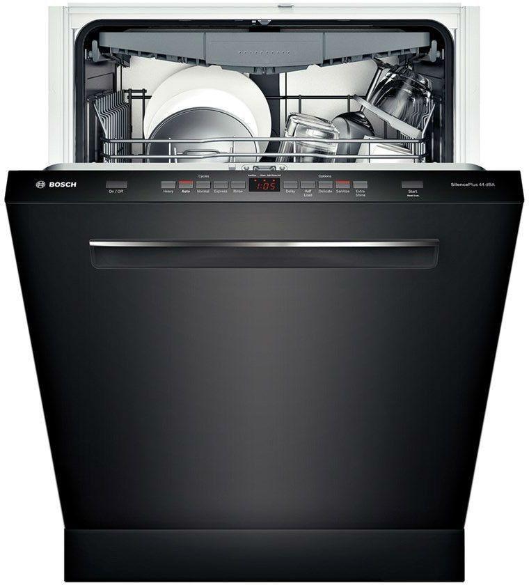 Bosch 500 24 black fully integrated dishwasher energy