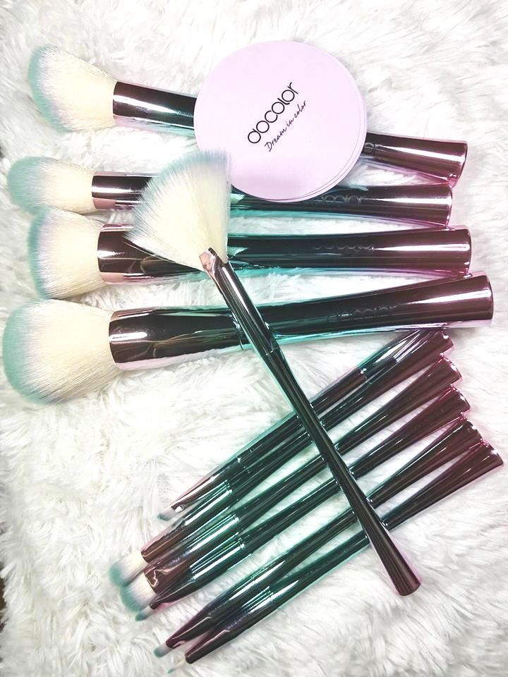 Docolor Fantasy Makeup Brush Set drugstore rainbowbrush