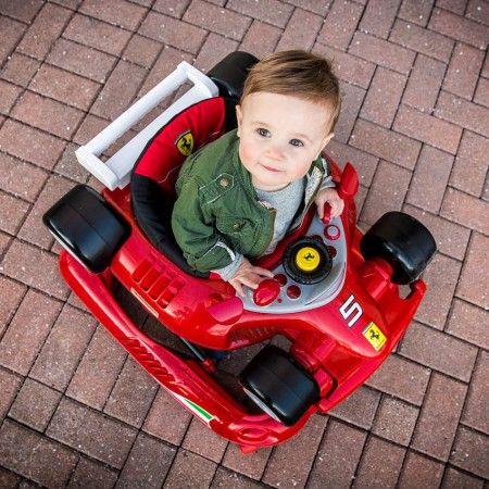 Ferrari F1 Baby Walker in Red   Ferrari F1 Baby Walker Pictures in