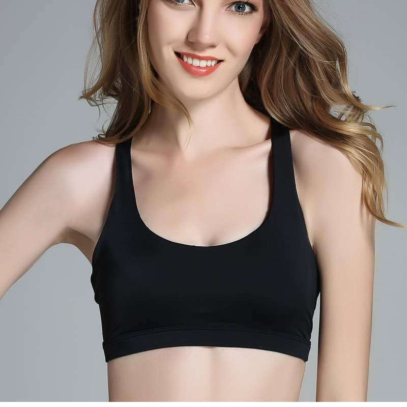 1548ffa17db Women Cross Yoga Sports Bra Sport Top Brassiere Fitness Gym Bras ...